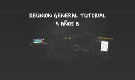 REUNION GENERAL TUTORIAL