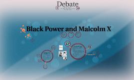 Black Power and Malcom X