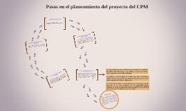 Pasos en el planeamiento del proyecto del CPM