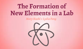 Formation of New Elements in Lab