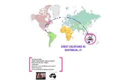 AUSTRALIA'S VACATIONS