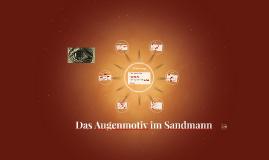 Das Augenmotiv im Sandman