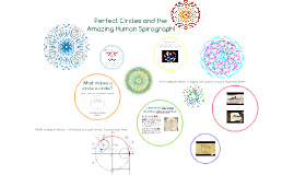 Perfect Circles and the Amazing Human Spirograph!