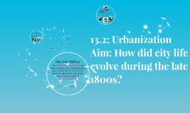 13.2: Urbanization