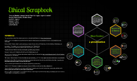 Ethical Scrapbook - CJA 324