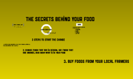 Copy of The Secrets Behind Your Food