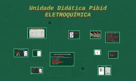 Unidade Didática Pibid - ELETROQUÍMICA