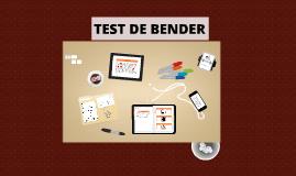 Copy of TEST DE BENDER