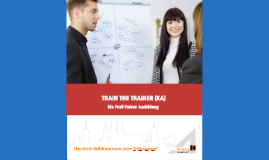 Train the Trainer (KA) - Infoabend 2019