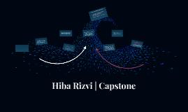 Hiba Rizvi - Capstone