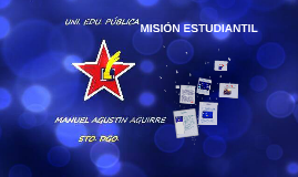 Copy of MISIÓN ESTUDIANTIL