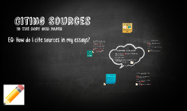 Copy of Citing Sources