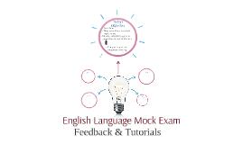 English Language Mock Exam