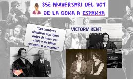 85é aniversari del vot de la dona a Espanya