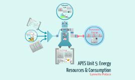 APES Unit 5: Energy Resources & Consumption