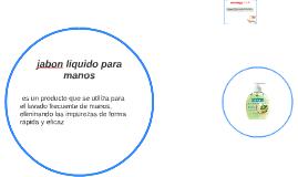 El jabón líquido por el tipo de componentes que contiene no
