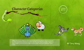 Character Categories