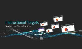 Instructional Targets