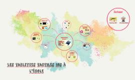 Les tablettes tactiles en Maternelle iOS