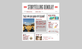 STORYTELLING DEMOLAY