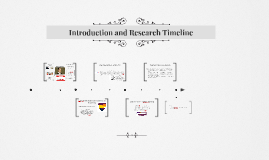 Introduction and Research Timeline