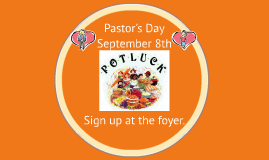 Pastor's Day