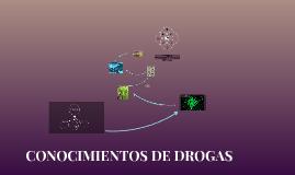 CONOCIMIENTOS DE DROGAS