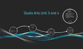 Copy of Studio Arts Unit 3 and 4