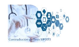 Copy of Contradicción de Tesis 93/2011