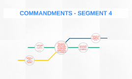 COMMANDMENTS - SEGMENT 4