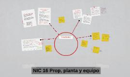 NIC 16 (1) Prop, planta y equipo