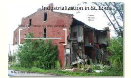 Urbanization in St. Louis