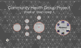 Community Health Group Project