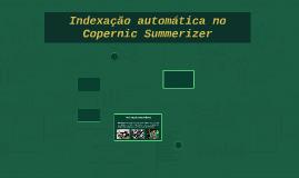 Indexação automática no Copernic Summerizer