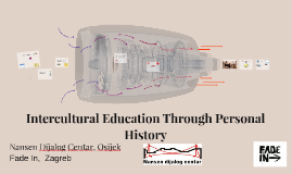 Intercultural education through personal history
