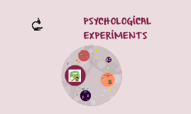 PSYCHOLOGİCAL EXPERİMENTS