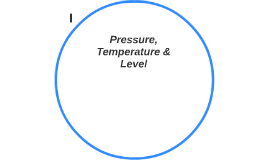 Pressure, Temperature & Level