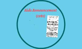 Aids Announcement (1981)