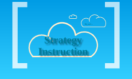Strategy Instruction: Reading Comprehension