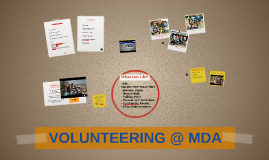 Volunteer with MDA