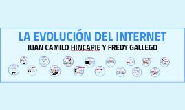 LA EVOLUCIÓN DEL INTERNET