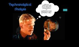 Psychoanalytical Analysis of Hamlet