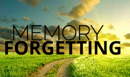 MEMORY AND FORGETTING