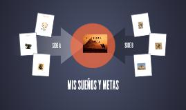 MIS SUEÑOS Y METAS