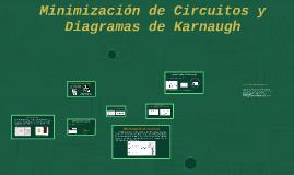 Minimización y Diagramas de