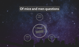 of mice and men coursework questions