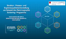 Struktur-, Prozess- und Ergebnisqualitätsicherstellung