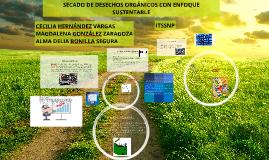 SECADO DE RESIDUOS ORGÁNICOS CON ENFOQUE SUSTENTABLE
