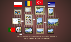 LET`S DISCOVER EUROPE TOGETHER FINDING HARMONY IN DIFFERENCE