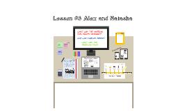 Lesson #3 Alex and Tash